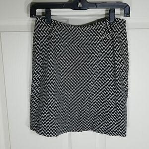 🎀EUC🎀 ANN TAYLOR Houndstooth Skirt